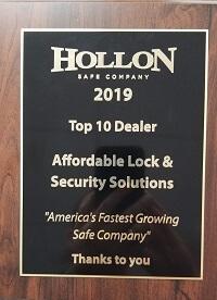 Hollon Safe Award 2019