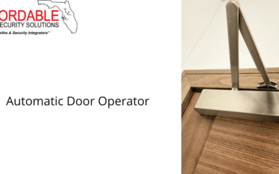 Hire a Professional Automatic Door Operator Installer Today!